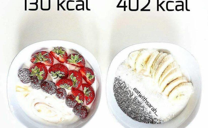 Dessert or not?  @Regranned from @caloriefixes – Yogurt vs Yoghurt Right: Greek …