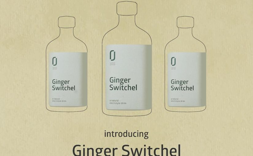 Presentation: GINGER SWITCHEL by Ramoe Jamoe – a drink that's all around the threat …