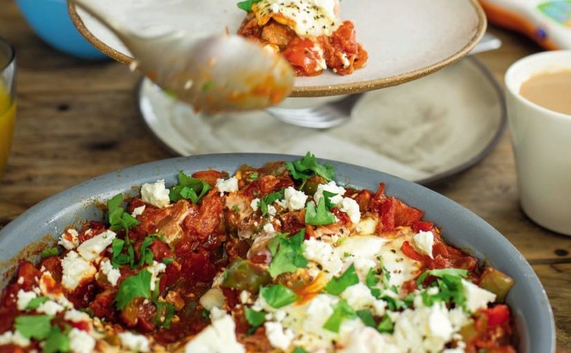 Make Shakshuka Egg Tom Potridge for a tasty and healthy breakfast. These …