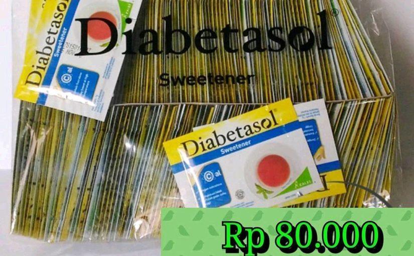 ต้นฉบับ Rp 80,000 / ชุด สารให้ความหวานของ Diabetasol – สารให้ความหวานแคปซูลนิวแคโรโด 200 …