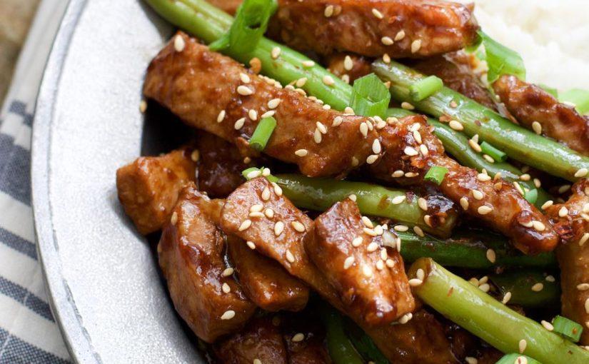 การเตรียมอาหารสำหรับสัปดาห์น้อยกว่า $ 40 หมูงากับถั่วเขียวและ …