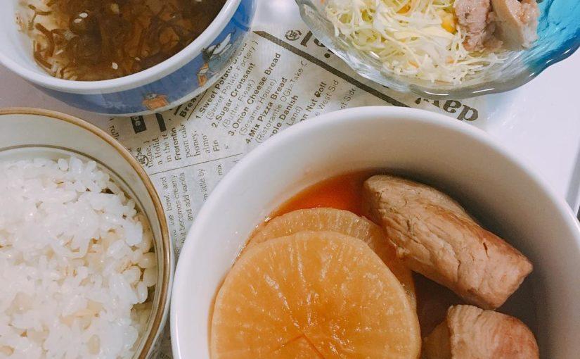 อร่อยปรุงสุกตั้งแต่เที่ยง ·ซุป Mozuku ·สลัดปลาทู ·ข้าวโมจิ หัวไชเท้าญี่ปุ่นหัวไชเท้า # อาหารค่ำ # อาหารจานด่วน # อาหารค่ำ # อาหารเย็น # อาหารค่ำ # อาหาร …