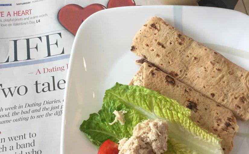 อาหารเช้ากลางวันและดวงชะตา! ️ #TorontoStar #Life #Brunch #Lunch #Tuna #ProteinUp #Wrap …
