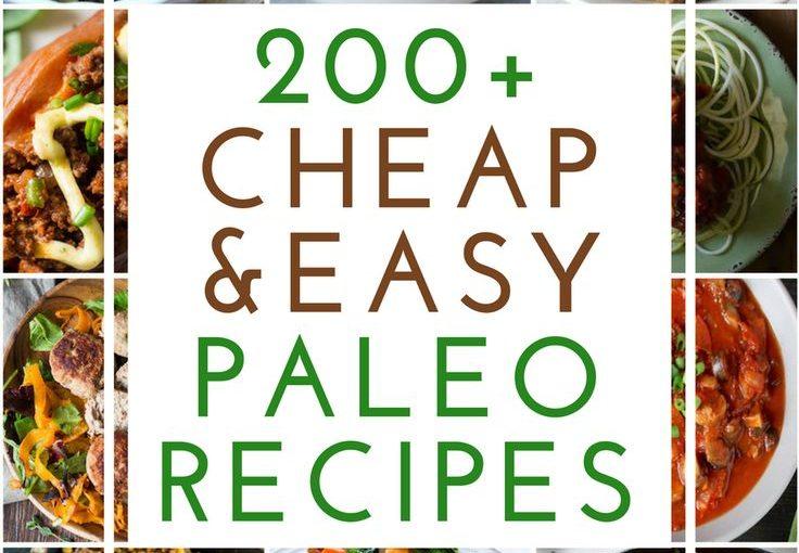 200 สูตร Paleo ราคาถูกและง่าย