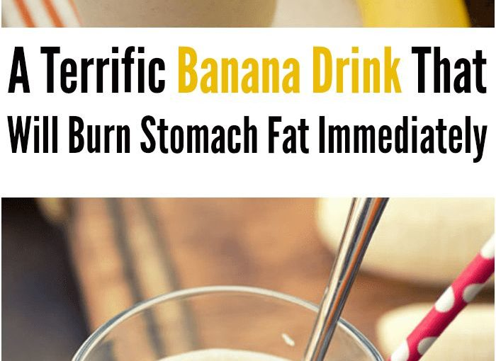 เครื่องดื่มกล้วยหอมที่จะเผาผลาญได้ทันที magafita