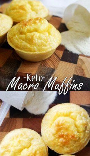 เหล่านี้ Muffins Keto มีอัตราส่วนที่สมบูรณ์แบบมาโครสำหรับอาหารคีโตเจน!