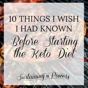 คิดเกี่ยวกับการเริ่มต้นอาหารโคโต? นี่คือ 10 ความคิดที่ฉันต้องการฉันได้รู้จัก …