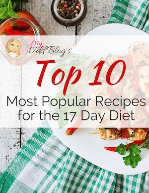 ต่อไปนี้เป็นสูตรที่นิยมมากที่สุด 10 สูตรสำหรับอาหาร 17 วัน เพลิดเพลินกับอาหารสำหรับ …