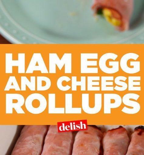 แฮมไข่ไก่และชีสโรลอัพเป็นเหมือนเบอร์แบริทอสคาร์โบไฮเดรตต่ำ รับสูตร …
