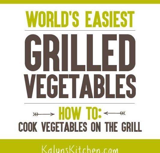 คุณจะรักสูตรนี้ง่ายและง่ายสำหรับผักย่างที่ง่ายที่สุดในโลก (p …