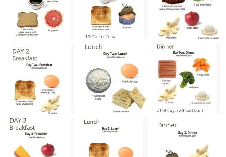 ความกล้าหาญ 3 วัน! ลดน้ำหนักได้ถึง 10 ปอนด์ใน 1 สัปดาห์ถ้าคุณทำตามแผนอาหารนี้ …