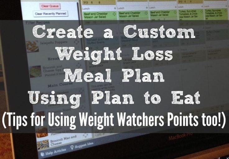 สร้างการลดน้ำหนักแบบกำหนดเองหรือวางแผนลดน้ำหนักโดยใช้แผนการกิน