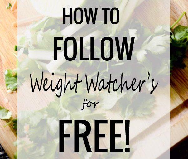 วิธีการดู Weight Watcher ฟรี มีลิงก์ไปยังสูตรอาหารมากมายสำหรับเขา …
