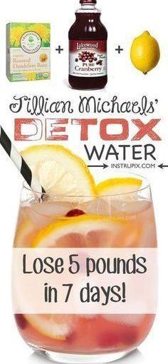 คลีนซิ่งดีทอกซ์สูตรน้ำลดน้ำหนักได้เร็ว! ส่วนผสมทั้ง 3 อย่างเป็นธรรมชาติ …