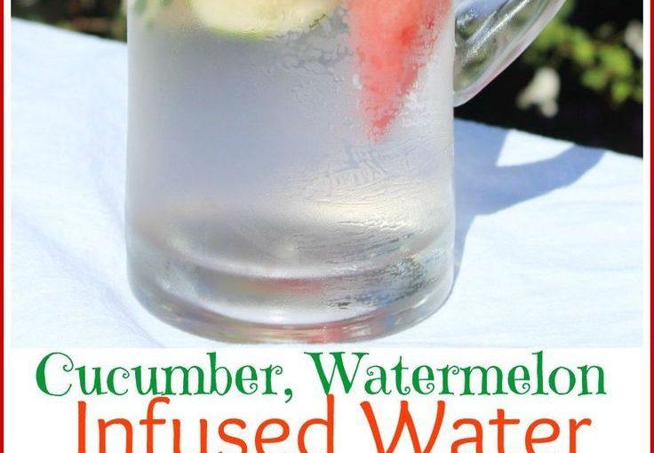 แตงกวาแตงโม Water Infusion Water – เราชอบไอเดียเครื่องดื่มสำหรับธีมสปาที่สดใส …