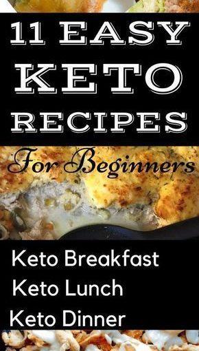 สูตร keto ง่าย ๆ สำหรับผู้เริ่มต้น สูตรอาหารคาร์โบไฮเดรตต่ำที่ง่ายต่อการปฏิบัติ