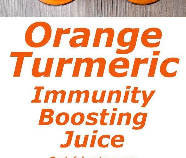 น้ำขมิ้นสีส้มนี้เป็นยากระตุ้นให้เต็มไปด้วยวิตามิน A และ C และอื่น ๆ …