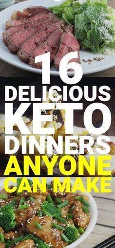 คุณกำลังมองหาอาหารเย็น keto ที่คุณสามารถเตรียมได้อย่างง่ายดายหรือไม่? นี่คือประมาณ 16 ระดับต่ำสุดที่น่ากลัว