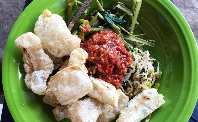 Serombotan Bali @ngiringmakan #kulinerbali #traditionalfood #herbalfood …