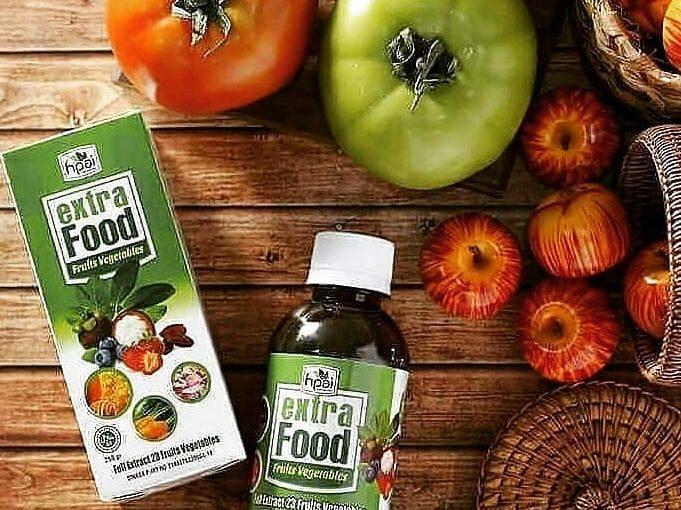 Extra Food เป็นอาหารเสริมเพื่อสุขภาพที่ประกอบด้วยสารสกัดจากผลไม้ 23 ชนิด …