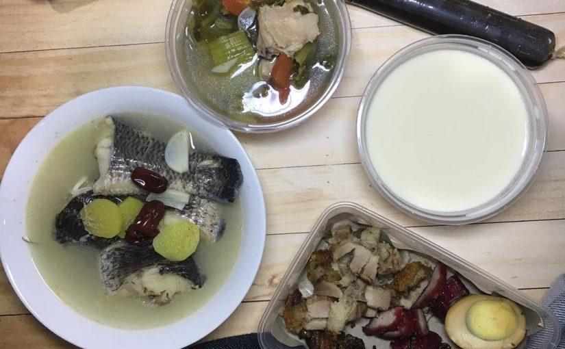 เมนูวัน: ทีมปลากะพงกระเทียม หมูย่าง ผักผัก