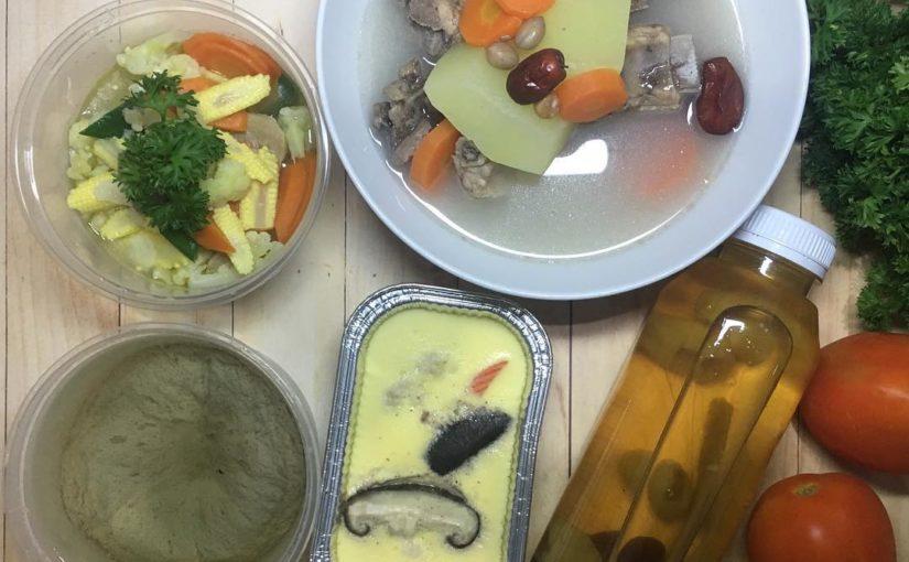 เมนูวัน: ซุปมะละกอดิบ Chawan Mushi + Nyuk cep Capcay Hongzao ด้วย . …