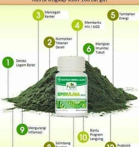 12 ประโยชน์ของสาหร่ายเกลียวทอง .. #spirulina #spirulinahpai #herbalfood #halalfood #H …