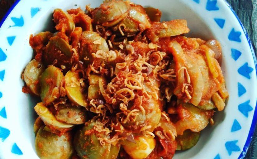 เมล็ดพันธุ์นี้อีกครั้ง * jengkol * อาหารที่แข็งแกร่ง #madebyme #cookbyme # ทำอาหาร #vegetar …