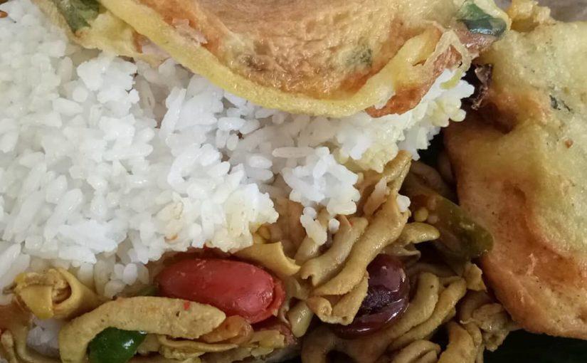 ข้าวที่เตรียม … เวอร์ชันของ Tegal  #rice #ricefood #olahnasi #nasilemak #nasitelur #n …