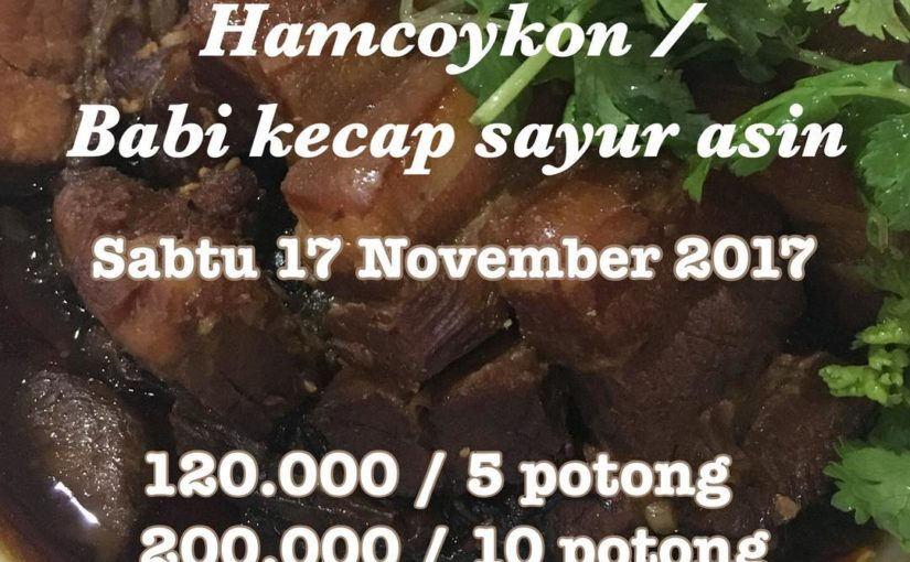 Open Po Soy Sauce Pork Salted 17/11/18 yah hehhehe .. PM สำหรับรายละเอียด . @ ciapo.ayen …