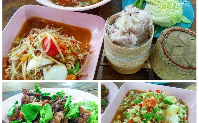 อาหารอีสานแบบไทย, ส้มตำเข้มข้น, ซุปสมุนไพรแรง ๆ , …
