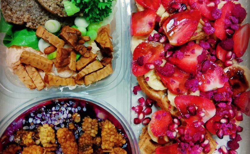 # อาหารกลางวัน # lunchtime #raw # veganfood #foodlover #foodpic #nonafresh #yummy # …