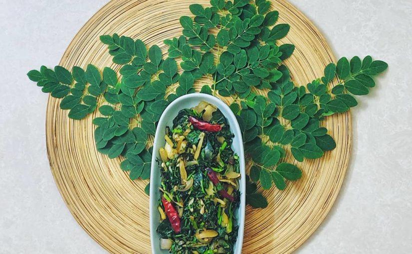 Moringa oleifera Fry ঔষধিসজনেপাতাভাঁজি  มะรุมถูกใช้มาหลายปีแล้ว …